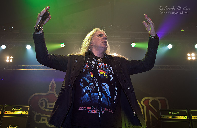 Фотография Saxon #6, 25.11.2011, Germany, Christmas Metal Festival