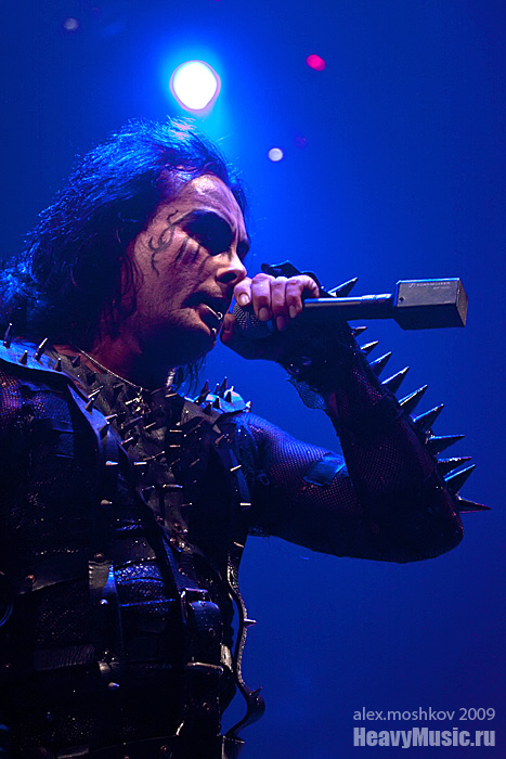 Фотография Cradle of Filth #15, 06.09.2009, Москва, Б1 Максимум
