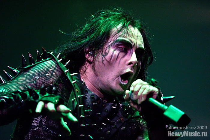 Фотография Cradle of Filth #17, 06.09.2009, Москва, Б1 Максимум