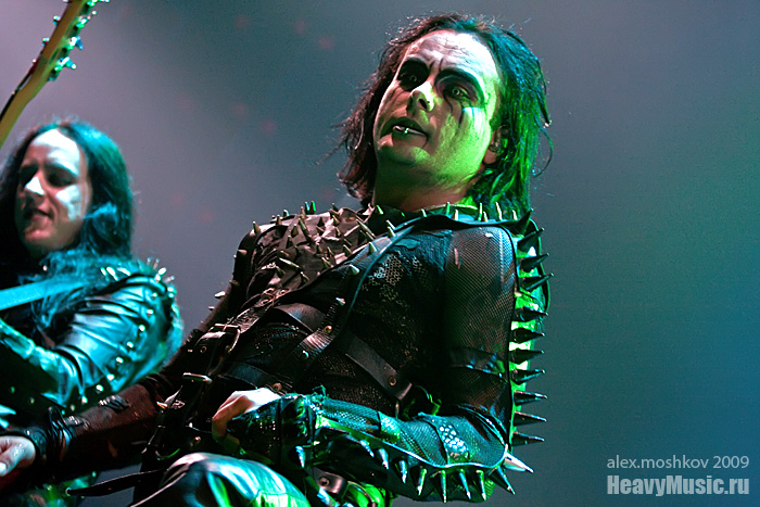 Фотография Cradle of Filth #7, 06.09.2009, Москва, Б1 Максимум