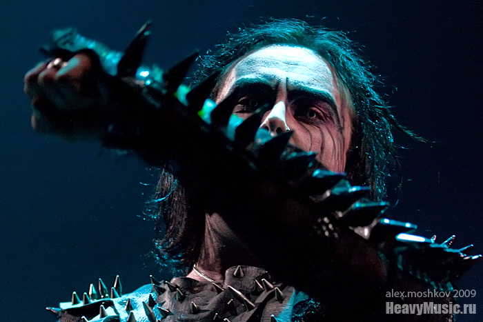Фотография Cradle of Filth #9, 06.09.2009, Москва, Б1 Максимум