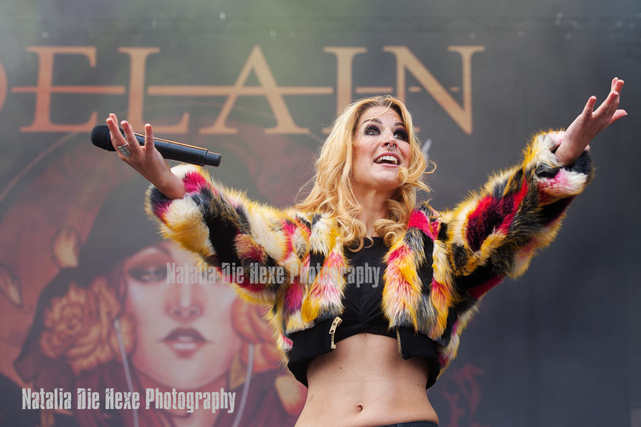 Фотография Delain #5, 19.08.2017, Germany, Dinkelsbühl, Summerbreeze Open Air