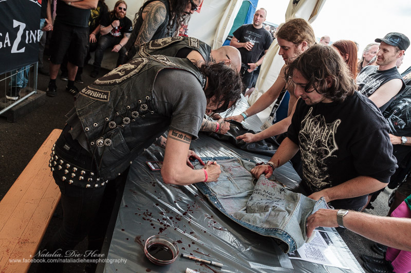 Фотография Watain #9, 07.08.2014, Germany, Schlotheim, Party.San