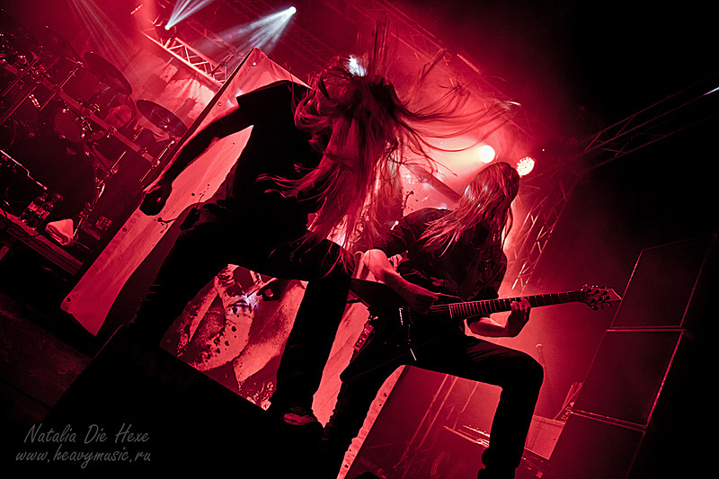 Фотография Legion of the Damned #3, 25.02.2012, Germany, Geiselwind, Music Hall